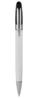 B11082 - B11082 -  Penna a sfera con fusto e clip in metallo, parte superiore e puntale in plastica, chiusura a scatto. ...