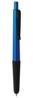 B11192 - B11192 -  Penna a sfera touch screen in plastica con impugnatura in gomma e chiusura a scatto.